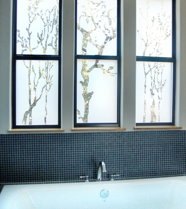 Sun mist sunsational solutions for Bathroom window privacy solutions